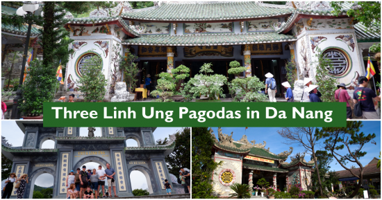 Not One, but Three 'Linh Ung Pagodas' in Da Nang